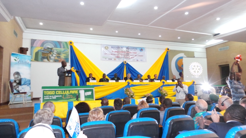 Panelists at the 9th Annual West Africa Project Fair