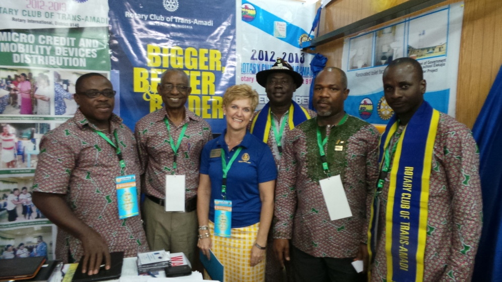 Project exhibitors from the host region