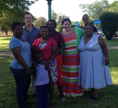 Teachers from South Africa who were trained during project. Photo courtesy of Mary Jo Jean-Francois.