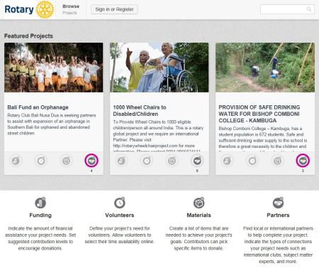 Rotary Ideas Homepage