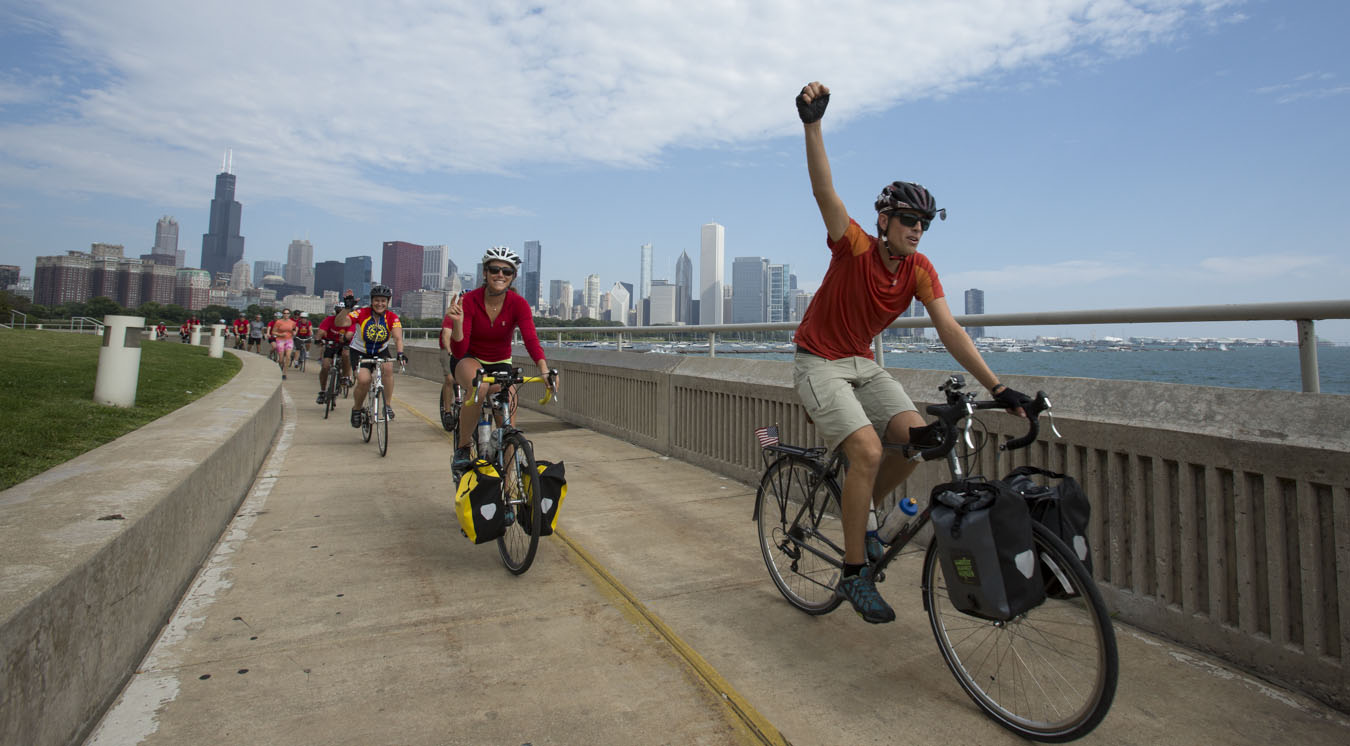 Biking across America to raise awareness about hunger and ...