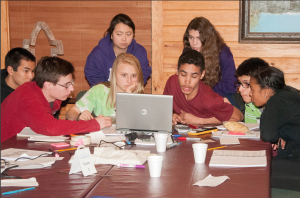 Camp Enterprise participant teams. Photo courtesy of W. Gaines Bagby