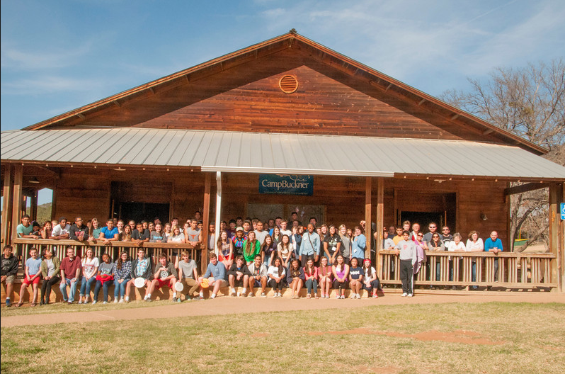 Participants at Rotary Club of Austin's 32nd Annual Camp Enterprise. Photo courtesy of W. Gaines Bagby.