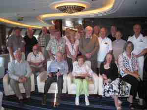 Rotary meeting on board the Queen Mary 2