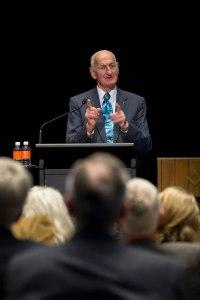 PRIP Bill Boyd speaks at the World Water Summit in Sydney, Australia, 30 May 2014. Photo by Monika Lozinska/RI