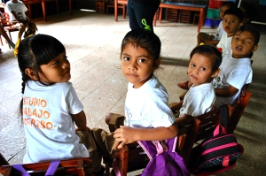Preschool program participants. Photo courtesy of Gocare