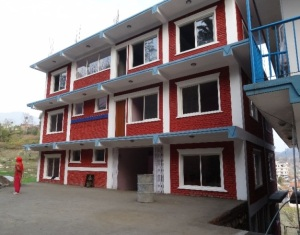 The completed Kumari Vidhya Mandir English School.