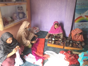 RCC of Tauheed Nagar, Pakistan, operates a vocational center for stitching.
