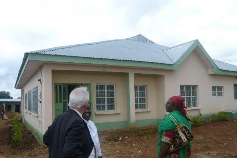 Rotary sponsored hospital in Wasa, Zaria, Kaduna State.