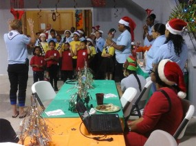 The Cayman Brac Rotary Club worked local youth groups to spread holiday cheer.