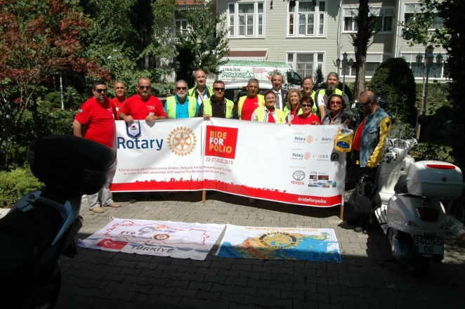 International Fellowship of Motorcyling Rotarians Turkey Chapter