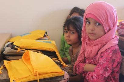 Aleppo school children.