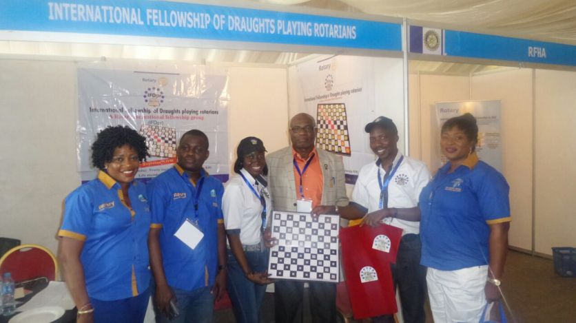 The International Fellowship of Draughts Playing Rotarians