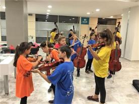 The Rotary Club of Bursa-Uludag's Music Project