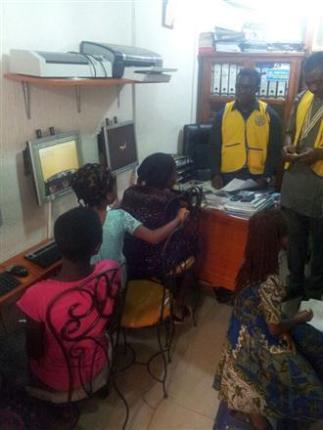 The Rotary Club of Port-Harcourt Gateway in Nigeria.