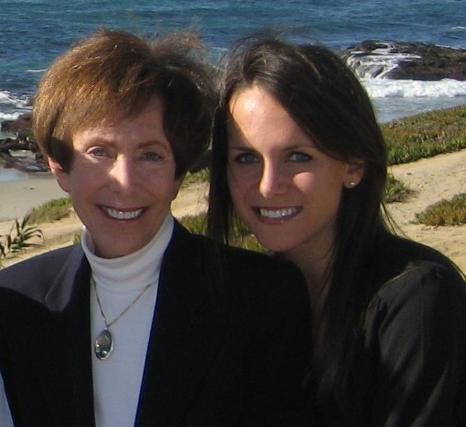 Cynthia Goodman with her daughter.