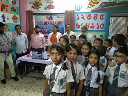 Dental Camp organized by Rotary Clubs of Narayanganj Port City and Rajdhani Sonargaon.