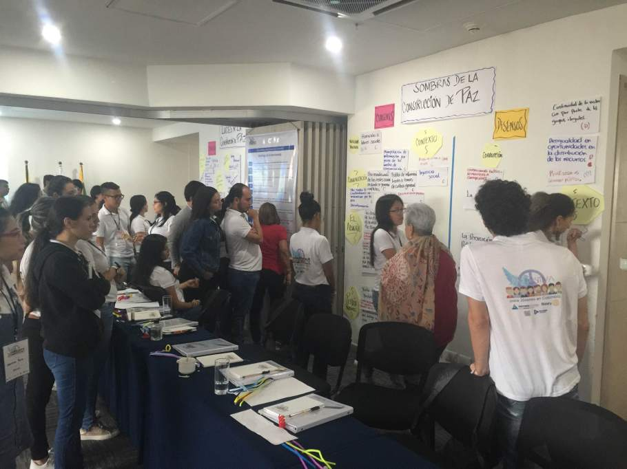 2019 Colombia Regional Positive Peace Workshops (February - May 2019)