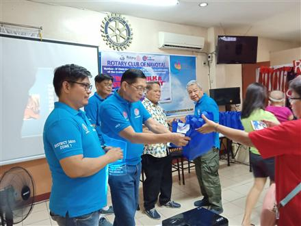 Rotary Club of Navotas in the Philippines
