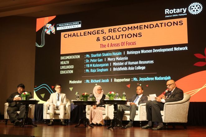 Panel discussions.