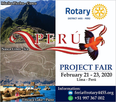 Lima Fair 2020.Join Us In Peru For Our First Project Fair Service In Action