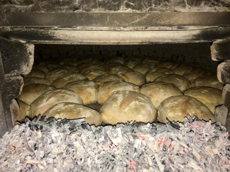 Fresh made bread.