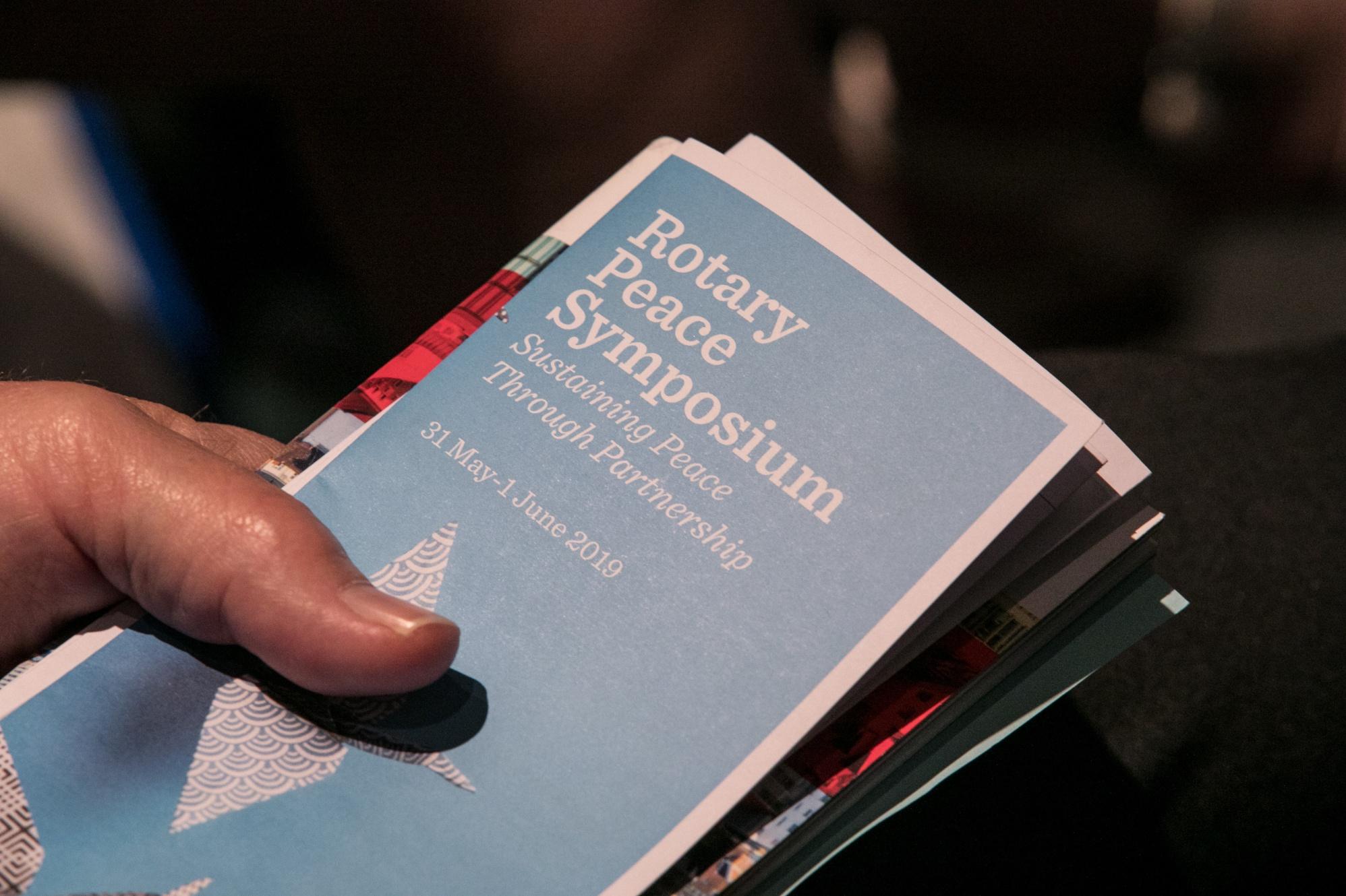 The Rotary Peace Symposium. 31 May 2019, Hamburg, Germany.